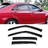 2015 chevy cruze accessories - Mifeier Sun Rain Guard Wind Deflector Vent Shade Window Visor For 09-15 Chevy Cruze Smoke Tint