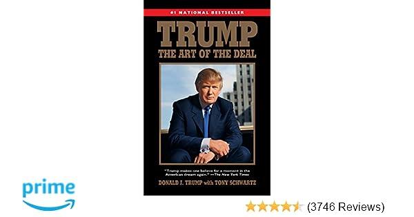 Trump The Art Of The Deal Donald J Trump Tony Schwartz