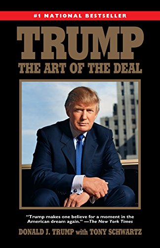 "Trump: The Art of the Deal by [""Donald J. Trump"", ""Tony Schwartz""] cover"