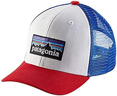 Patagonia KS Trucker Gorra de Pesca, Unisex niños, p-6 Logo ...