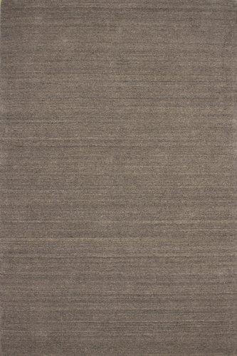 Lalee  347185757  Moderner Designer Teppich / Handarbeit / Uni / Wolle / Silber / Grösse : 120 x 170 cm