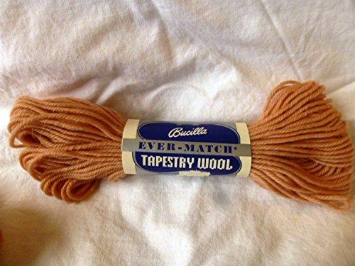 Bucilla Light Peach Ever Match 100% Pure Virgin Wool Tapestry Yarn - 40 yards