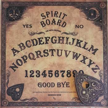 Party Games Accessories Halloween Séance Board Talking Spirit Board Traditional Old World Style Nemisis