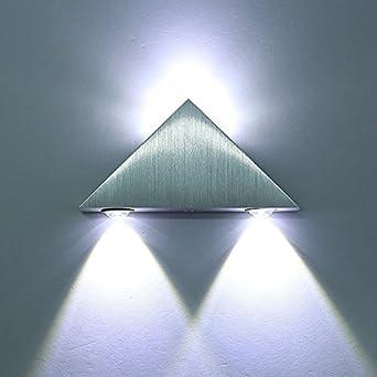 Triangle Applique Murale Extérieur Intérieur Led Effet Lampe Murale