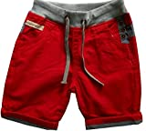 Tsno.7,g Boys Little Boys Leisure Shorts (S(8), Red)