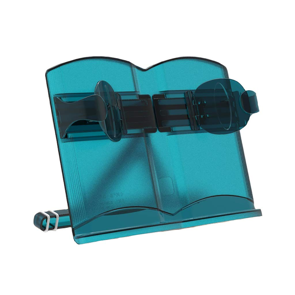 File Holder, Multi-Function Reading Stand (Plastic) 3021CM (Color : B)