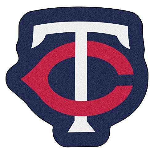 FANMATS MLB Minnesota Twins Mascot Mat, Team Color, One - Mascot Twins Minnesota