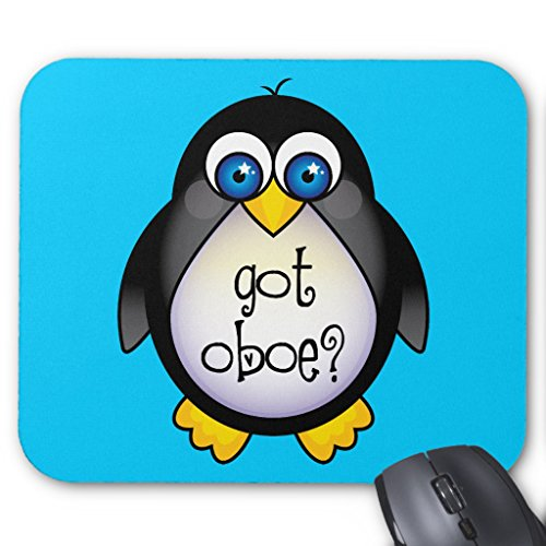 Oboe Got (Zazzle Cute Penguin Music Got Oboe Mouse Pad)