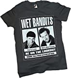 Twentieth Century Fox Wet Bandits Poster - Home Alone Adult T-Shirt, Large