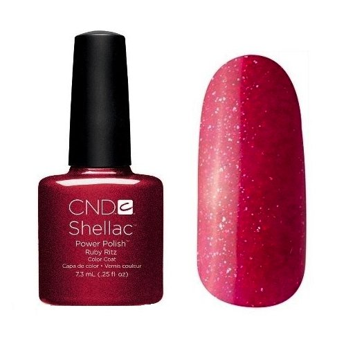 Ruby Ritz * CND Shellac