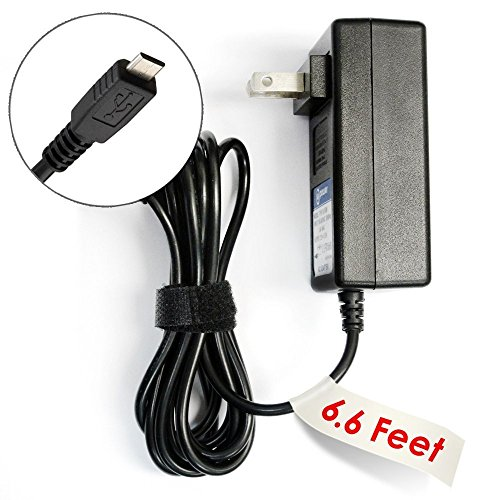 T-Power ( 6 Feet Cord) Ac Adapter For Motorola Mbp854connect MBP853 Mbp85connect Mbp854 / FOCUS85 FOCUS66 / Pet Scout66 Wi-Fi HD Home Camera Video Baby Monitor ( Fits Baby Unit or Parent Unit )