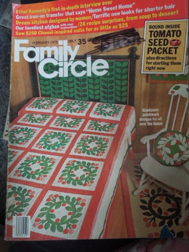 - Family Circle Magazine February 1976, Ethel Kennedy's first in-depth interview ever