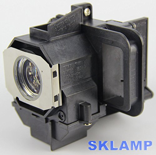 ELP49 V13H010L49 Projector Lamp Bulb with Housing Replacement for Epson Power Lite Home Cinema 8350 8345 by Woprolight (Image #2)