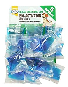 Good Boy Clean Green Dog Loo Bio-Activator Capsules 15 Units (Pet Accessories, Dog, Health, Hygiene) by Good Boy