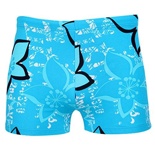 JINGJQINGCAO Men Floral Swim Trunks Shorts Swimsuit Beachwear