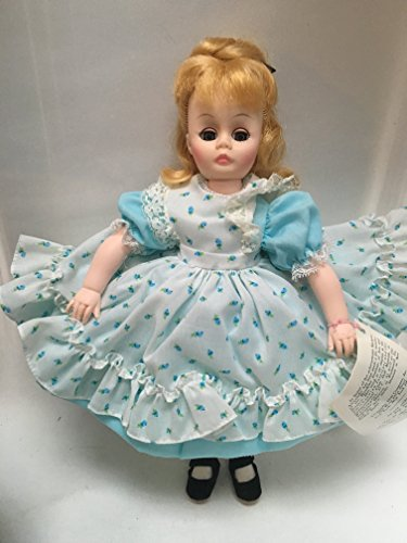 Madame Alexander Amy #1320 Little Women Series 12 ' Inch Doll Rare Blue Dress