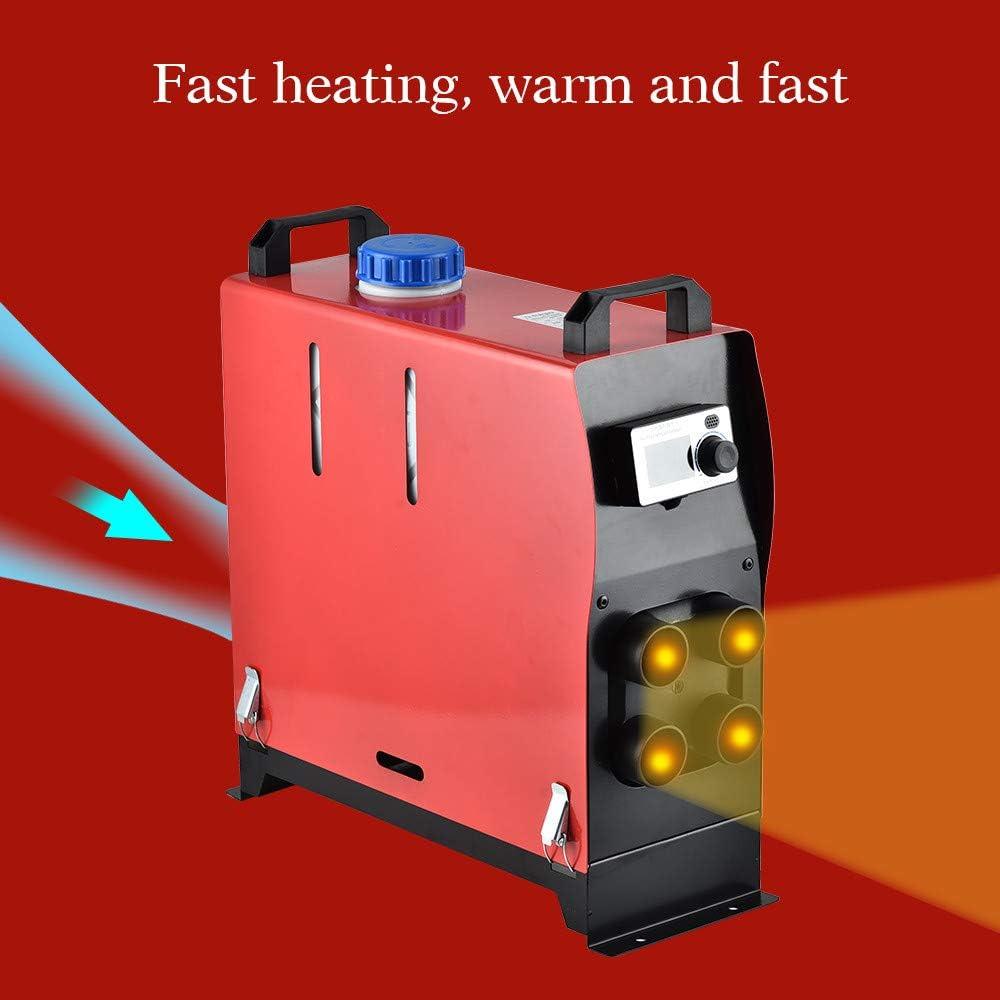 Motorhomes,Caravans ETE ETMATE 24V 5KW Air Diesel Heater Parking Heater 10L Tank Remote Control LCD Display For Truck,Boat,Car Trailer,Touring car,Campervans