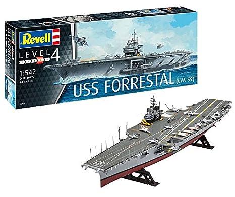 Revell 05156, USS FORRESTAL (CVA-59), 1:542 scale plastic model kit
