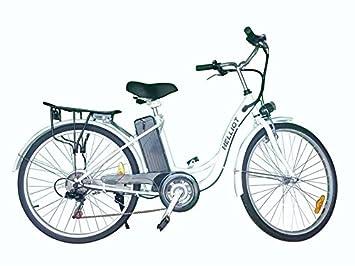 Helliot Bikes E-Bike Shimano Bicicleta Eléctrica, Unisex Adulto, Negro, Talla Única