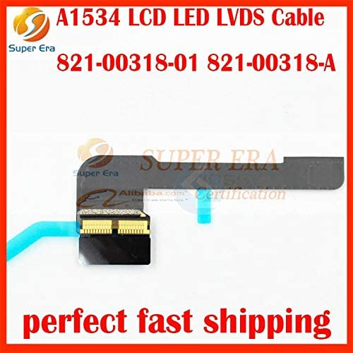 Cable Length: Other Computer Cables Original A1534 12 for MacBook Air LCD LVDS LED Display Screen Flex Cable 821-00318-01 821-00318-A MF855MF865