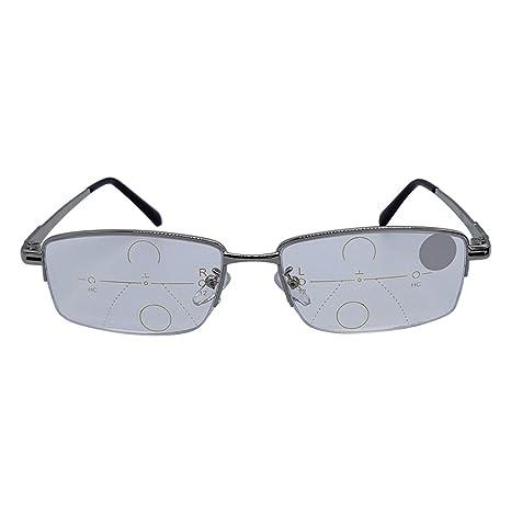 lzndeal Lentes de Lectura Inteligentes Lentes progresivas multifocales Presbicia Anti Fatiga Gafas