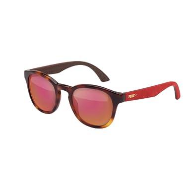 Amazon.com: anteojos de sol Puma PU 0042 S PU 0042 42 S, S ...