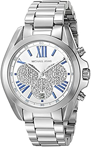 Michael Kors Women's Bradshaw Silver-Tone Watch MK6320 (Michael Kors Bradshaw Watch 43mm)