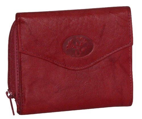 Buxton French Handbag - Buxton Heiress Zip Around Wallet RED