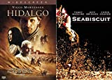 This Curated Horse Collection Will Take You On The Ride of Your Life! Hidalgo & Seabiscuit HORSE MOVIE MANIA 2 DVD Bundle
