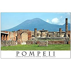 "CafePress - Forum In Pompeii - 23""x35"" High Quality Poster on Heavy Semi-gloss Paper"
