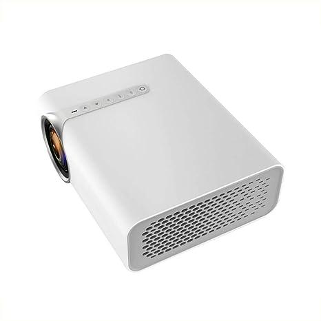 Amazon.com: RUONAN Mini proyector de teléfono pantalla recta ...