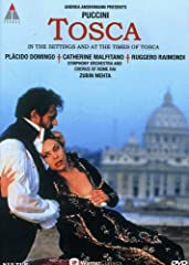 This live version of Puccini s superbly dramatic opera was recorded in Rome in the exact locations and at the precise times of day as Puccini had written into his score. The action opens in Rome's beautiful 16th-century church of Sant Andrea ...