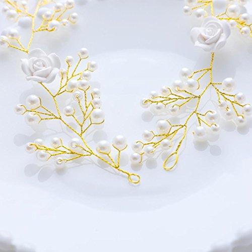 Handcess - decorazione per capelli da sposa 08816b75f468
