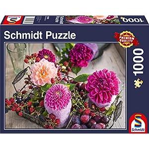 Schmidt Spiele 58369 Puzzle Da 1000 Pezzi Soggetto Bacche E Fiori