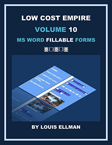 Low Cost Empire Volume 10: MS Word Fillable - Low Warehouse Cost