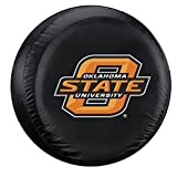 Oklahoma State Cowboys NCAA Spare Tire Cover (Black)