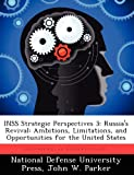 Inss Strategic Perspectives 3, John W. Parker, 1249883059