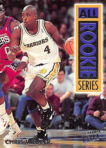 online store ce3ce 2feb6 Chris Webber basketball card (Golden State Warriors) 1994 ...