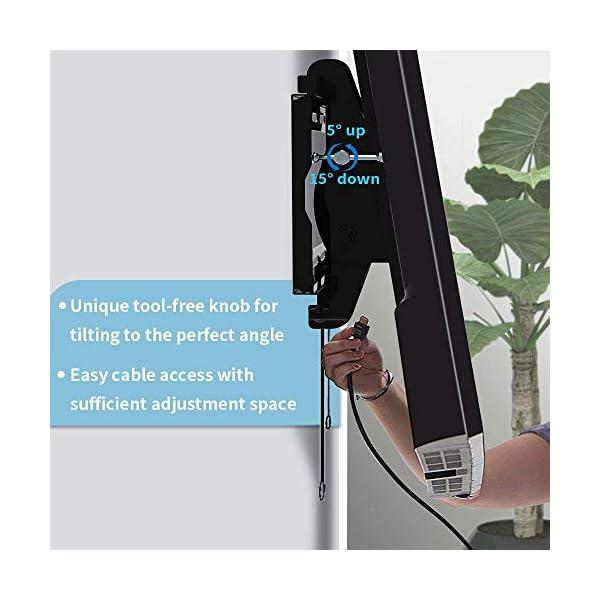 Everstone Tilt TV Wall Mount Bracket for Most 32-80 Inch LED,LCD,OLED,Plasma