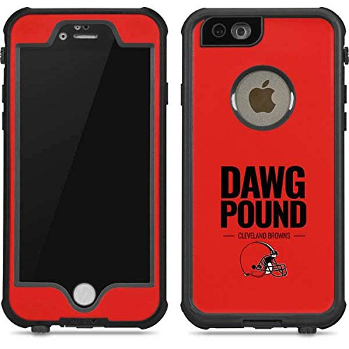 Skinit NFL Cleveland Browns iPhone 6/6s Waterproof Case - Cleveland Browns Team Motto Design - Sweat-Proof, Snow-Proof, Dirt-Proof, Dust-Proof Phone Cover - Cleveland Browns Cover