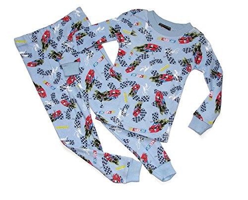 NASCAR Daytona Racing Team Boy's 3T Blue Cotton Pajama Set