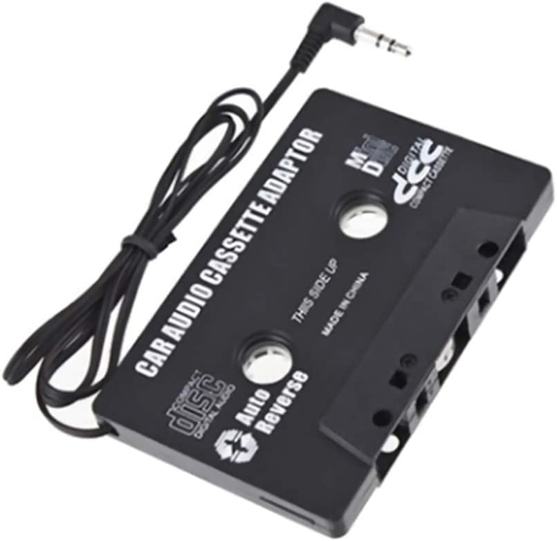 Gutyan Adaptateur Universel de Lecteur de Cassette de Voiture avec Prise Jack 3.5mm pour Lecteur MP3 MP4
