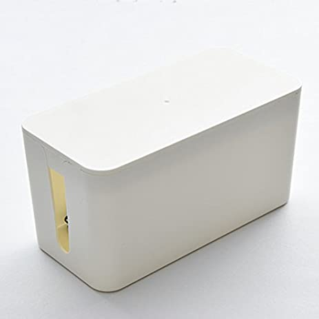 Resulzon Cable Management Cord Cover Wire Hider Box Concealer Organizer  Protector System for Home Theater Entertainment