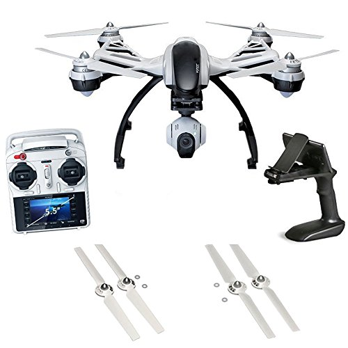 Yuneec Q500+ Typhoon Quadcopter w/ CGO2-GB 3-Axis Gimbal Camera Dual Battery Bundle