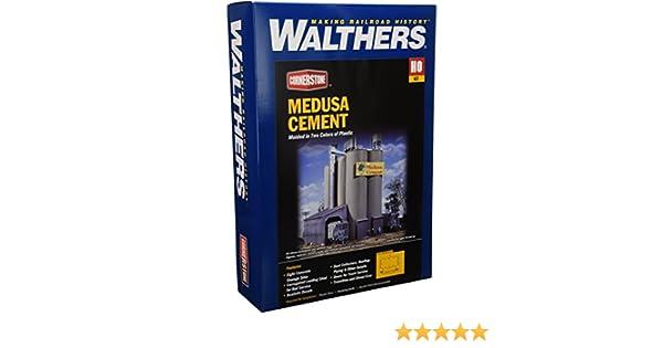 Walthers HO Scale Cornerstone Series174 Medusa Cement Company 9 x 7 x x 11 22.5 x 17.5 x 27.5cm