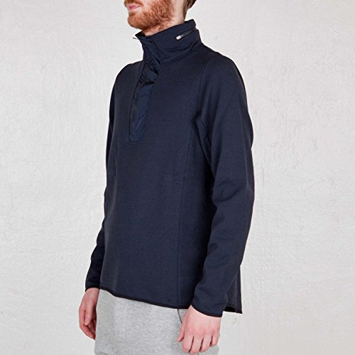 $450 Men's Large Nike Pinnacle NSW Made in Italy Engineered Knit Half Zip Sweater Sweatshirt w/ Stow Hood by Nike NSW