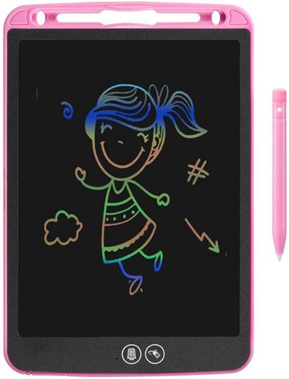 子供のためのデジタルタブレットカラフルなボードシャッター機能でスクラッチパッド、ポータブル絵記号を書くLCD,2