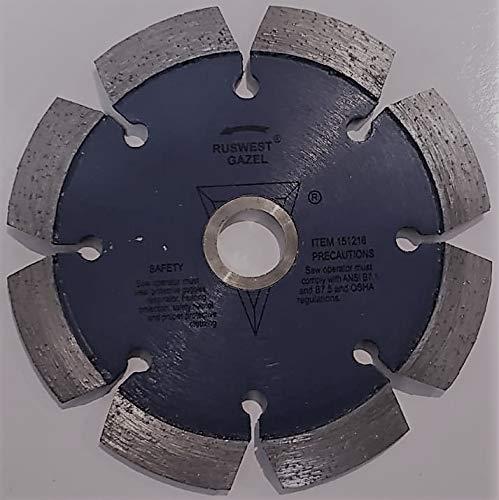 Ruswest 4-1//2/″ Diamond Crack Chaser Blade 5//8/″ Arbor