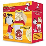 Smart Planet PNP1 Peanuts Snoopy Popcorn Cart Air Popper, Red by Smart Planet