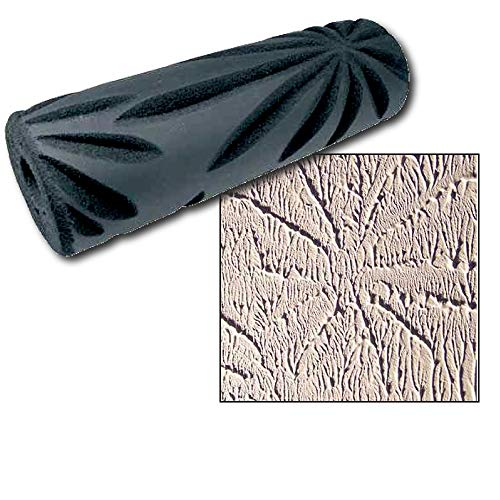 (Crow's Foot Drywall Paint Texture Roller - Apply Decorative Raised Texture to Walls and Ceilings )